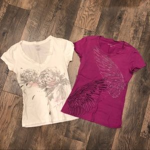 Two XS Tees